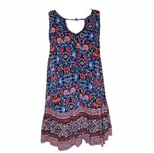 AMERICAN EAGLE Floral Swing Dress XS